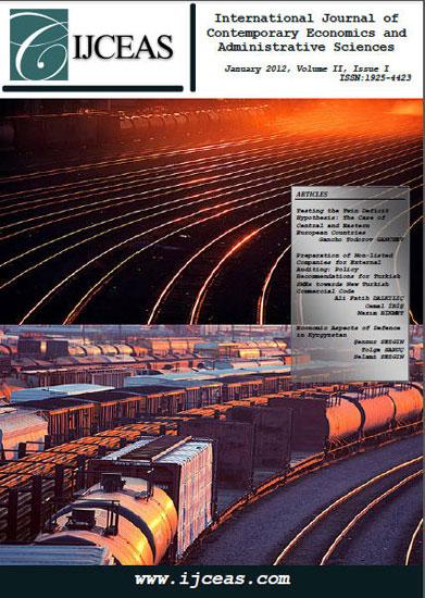 Volume: 2 Issue: 1 Year: 2012